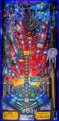 Stern Star Trek Vengeance Premium Edition Pinball Machine