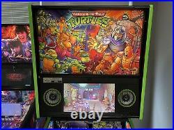 Stern Teenage Mutant Ninja Turtles Pinball Machine Limited Edition Le