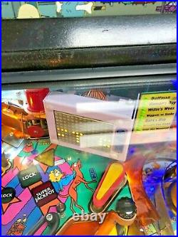 Stern The Simpsons Pinball With LEDS / COLOR DMD & MORE