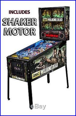 Stern The Walking Dead Premium Pinball Machine with Shaker Motor