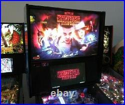 Stranger Things PRO Pinball Machine. South Florida. Stern