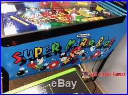 Super Mario Bros Pinball Machine From Gottlieb RESTORED