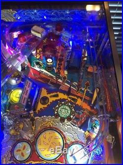 Super Nice WHIRLWIND Arcade Pinball Machine Williams With Led kit Working 100%