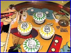 Super Rare 1971 Bally THE RED MAX Pinball Machine 1 of 70 made. NICE $399 SHIPS
