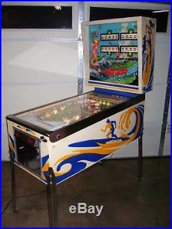 Surf Champ Pinball Machine By Gottlieb