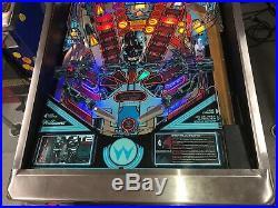 T2 Terminator 2 Pinball Machine Leds Upgrades Galore Incredible Sound 1991