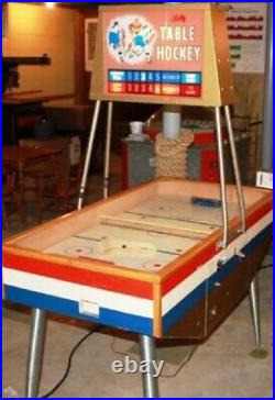 TABLE HOCKEY ARCADE MACHINE by BALLY (Excellent) RARE