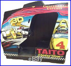 TAITO CONTINENTAL CIRCUIT ARCADE DRIVING MACHINE (Excellent Condition) RARE