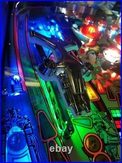 TERMINATOR 2 PINBALL MACHINE 1991 Collectors Customized MODs LEDS Private Owner
