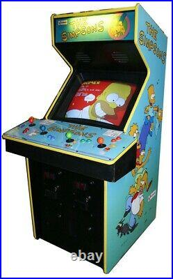 THE SIMPSONS ARCADE MACHINE by KONAMI 1991 (Excellent Condition) RARE