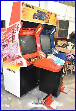 TIME CRISIS II ARCADE MACHINE by NAMCO 2 PLAYER (Excellent Condition) RARE