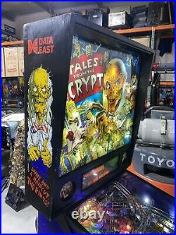 Tales From The Crypt Pinball Machine By Data East Coin Op Arcade LEDS
