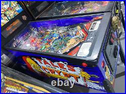 Tales From The Crypt Pinball Machine Data East LED Free Shipping HBO Cryptkeeper