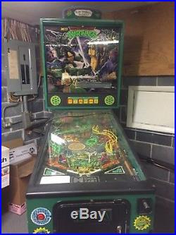 Teenage Mutant Ninja Turtle Pinball Machine