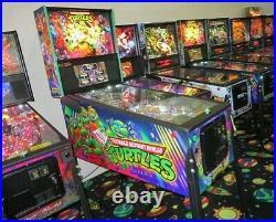 Teenage Mutant Ninja Turtles (PRO) Pinball Machine NEW. TMNT. Florida