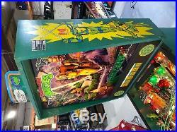 Teenage Mutant Ninja Turtles Pinball Machine By Data East Coin Op Arcade LEDS