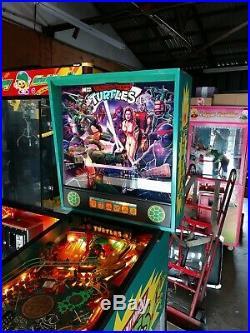 Teenage mutant ninja turtles Pinball Machine