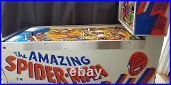 The Amazing Spider-Man Pinball Machine (Gottlieb) 1980
