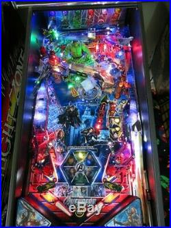 The Avengers Pinball Machine. Stern. South Florida