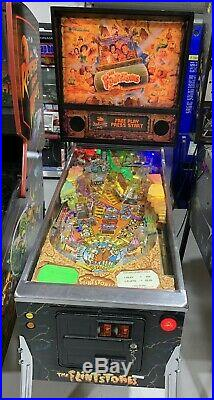 The Flintstones Pinball Machine Williams Coin Op Arcade LEDs Free Shipping