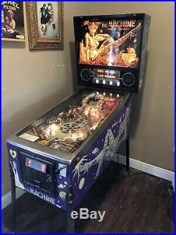The Machine The Bride of pinbot pinball machine