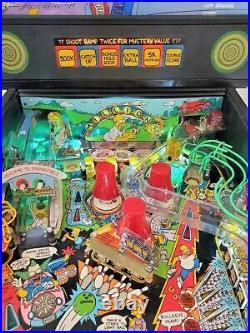The Simpsons Pinball Machine