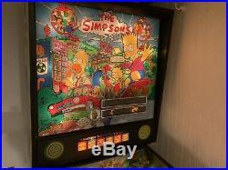 The Simpsons Pinball Machine Data East 1990