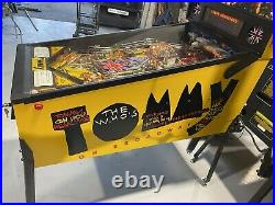 The Whos Tommy Pinball Machine Data East Arcade LEDs Free Shipping