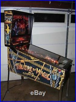 THEATRE OF MAGIC Flipper Wear Area Fix Pinball Machine