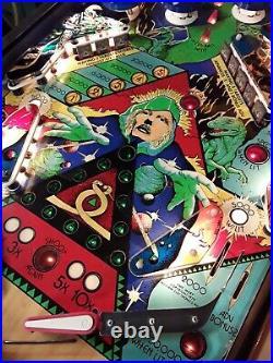 Time Warp Pinball Machine By Williams
