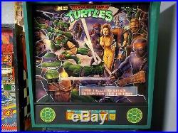Tmnt pinball teenage mutant ninja Turtles works great we ship nationwide