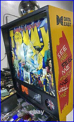 Tommy Pinball Machine By Data East LEDS Free Shipping