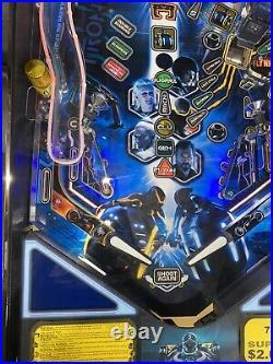 Tron Limited Edition Pinball Machine Stern LEDs Free Shipping 2011