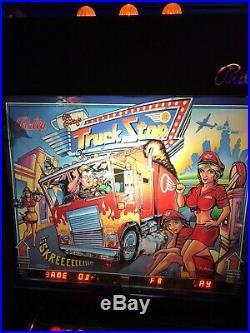 Truck Stop Bally 1988 Pinball Machine