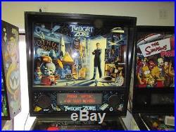 Twilight Zone Pinball Arcade Machine FREE SHIPPING! Led Kit Installed. Nice