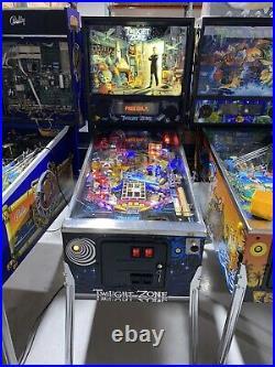 Twilight Zone Pinball Machine Bally Coin Op Arcade 1993 Free Shipping LEDs