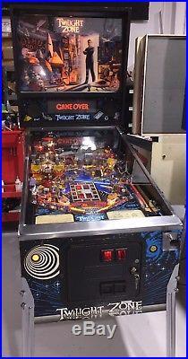 Twilight Zone Pinball Machine Bally Coin Operated Pat Lawlor Mods