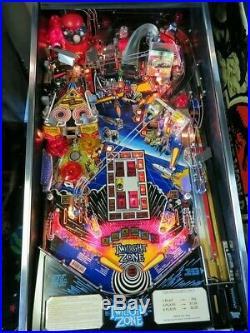 Twilight Zone Pinball Machine. South Florida. Bally