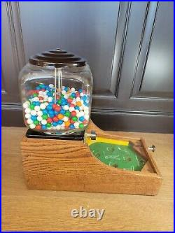 Vintage 1942 Gumball Machine Skill 1¢ Penny Coin Op Pinball Golf Game Counter