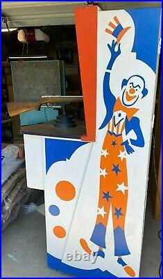 Vintage 1969 Chicago Coin's Super Circus Shooting Rifle Arcade Gun Game