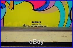 Vintage 1972 Williams Jubilee Pinball Machine