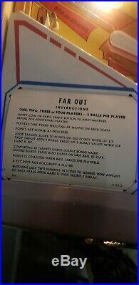 Vintage 1974 Gottlieb pinball Machine