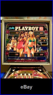 Vintage 1978 Bally Playboy Hugh Hefner Pinball Machine