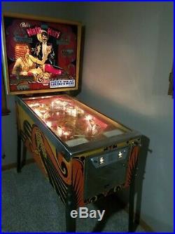 Vintage 1978 Mata Hari Pinball Machine by Bally