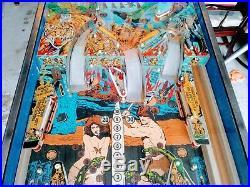 Vintage 1981 Edition Williams Jungle Lord Pinball Machine Rare