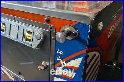 Vintage Bally Captain Fantastic Elton John The Who Tommy Pinball Arcade Machine