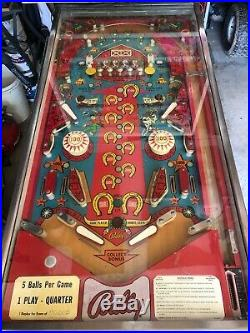 Vintage Bally Flip Flop Pinball Machine
