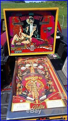 Vintage Bally Mata Hari Pinball