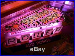 Vintage Classic 1980 Gottlieb ROLLER DISCO Pinball Machine Only GRC Pinball