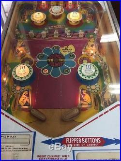 Vintage Groovy Pinball Machine By Gottlieb Arcade. Rare Machine